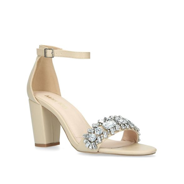 high Nude heel Miss KG 'Penny' sandals qAwwf1t