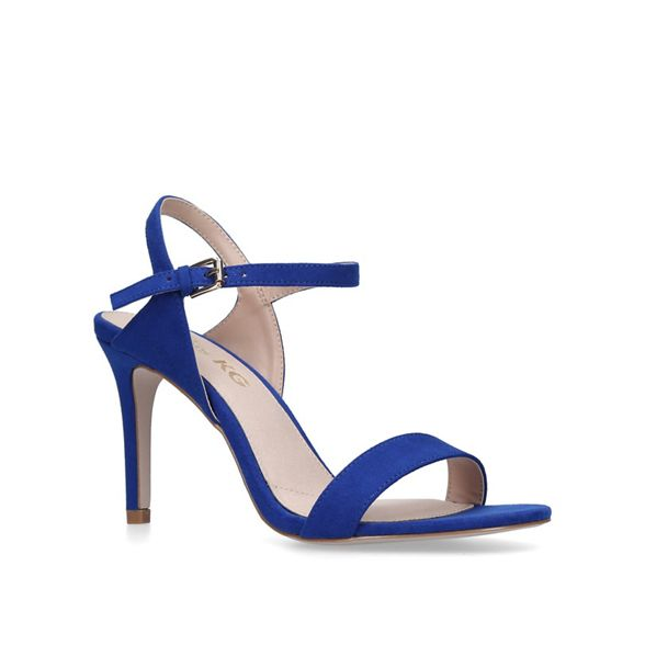 Miss sandals heel Blue KG mid 'Poppy' vavOq7