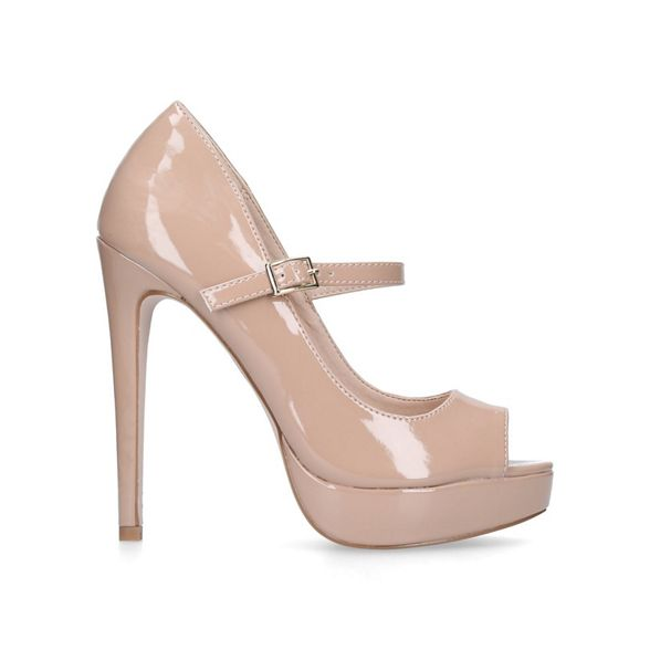 high 'Polly' court shoes Nude Miss heel KG z1qwRqtx