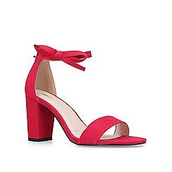 Miss KG - Pink 'Patsy' block heeled sandals