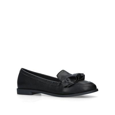 Miss Kg   Black 'natalia' Slip On Loafers by Miss Kg