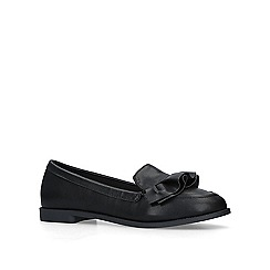 Miss KG - Black 'Natalia' slip on loafers