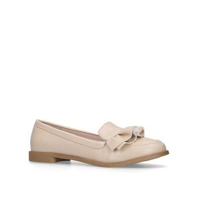 Miss slip KG - Nude 'Natalia' slip Miss on loafers b2e629