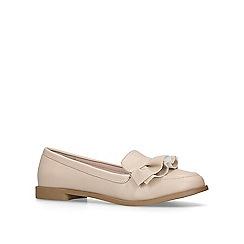 Miss KG - Nude 'Natalia' slip on loafers