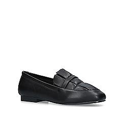 Miss KG - Black 'Nicky' slip on loafers
