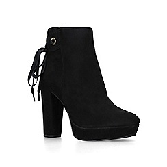 Miss KG - Black 'Sheree' high heel ankle boots