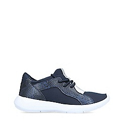 Miss KG - Navy 'Kenny' Low Top Trainers
