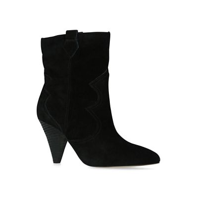 KG Kurt Geiger - Black 'Token' suede boots