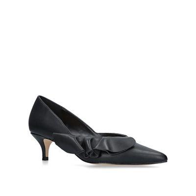 KG Kurt Geiger - Black 'cara' kitten heel court shoes