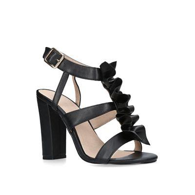 KG Kurt Geiger - Black sandals 'Fliss' high heel sandals Black 53a35e