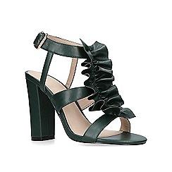 KG Kurt Geiger - Green 'Fliss' high heel sandals
