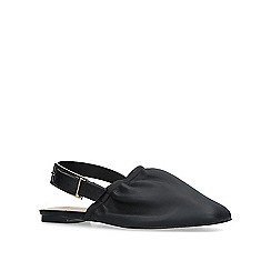 KG Kurt Geiger - Black 'michelle' slingback flat shoes