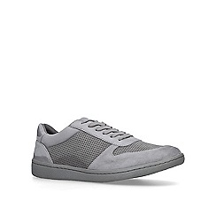 KG Kurt Geiger - Grey 'Layla' lace up trainers