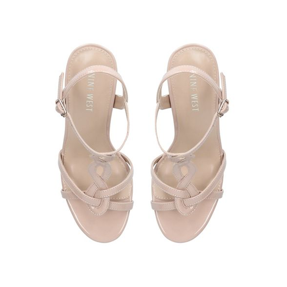 Nude West mid heel sandals 'Demi' Nine 5HqTWw76T