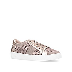 Carvela - Nude 'Jealousy' lace up trainers