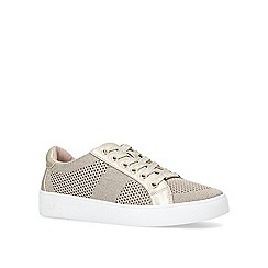 Carvela - Gold 'Jealousy' lace up trainers