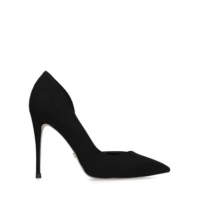 KG Kurt Geiger - Black 'alexandra2' stiletto heeled court shoes