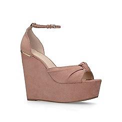 e923876b032a KG Kurt Geiger - Nude  Felicity  platform heel sandals