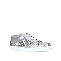 Carvela - Grey 'Limelight' low top trainers
