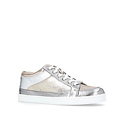 Carvela - Grey Legacy flat lace up trainers