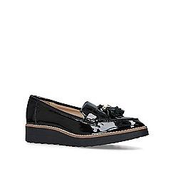 Carvela - Black 'Limb' patent flat loafers