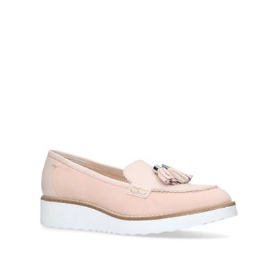 Carvela - Nude 'Limb' flat loafers