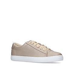 Miss KG - Metallic 'lotus2' lace up trainers