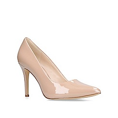 Nine West - Nude 'Act' high heel court shoes
