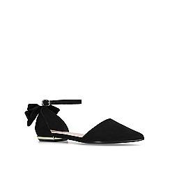 Miss KG - Black 'Norah2' flat court shoes