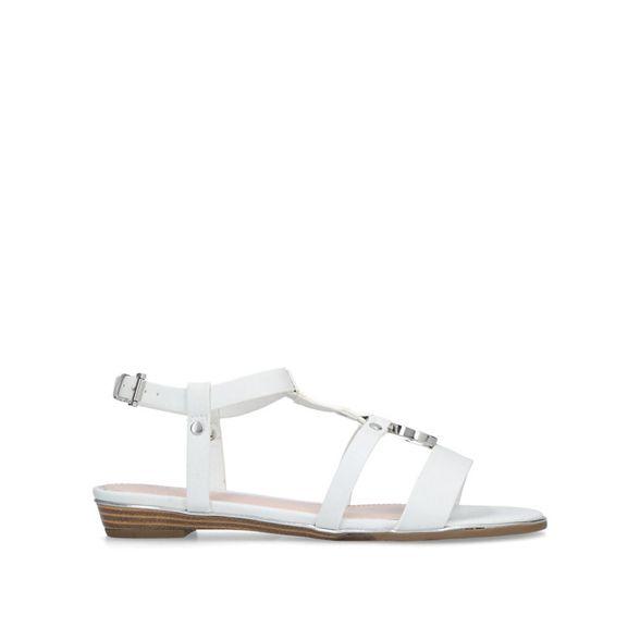 'Shrink' West flat White Nine sandals EPwZCqE7
