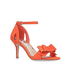 Miss KG - Red 'Caiden2' high heel sandals