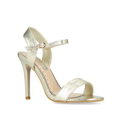 Miss KG - Gold 'Imogen2' high heel heel heel sandals ab3905