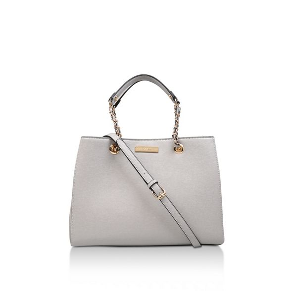 Chain bag Carvela Grey 'Bennie tote Str Tote' qUEUvr