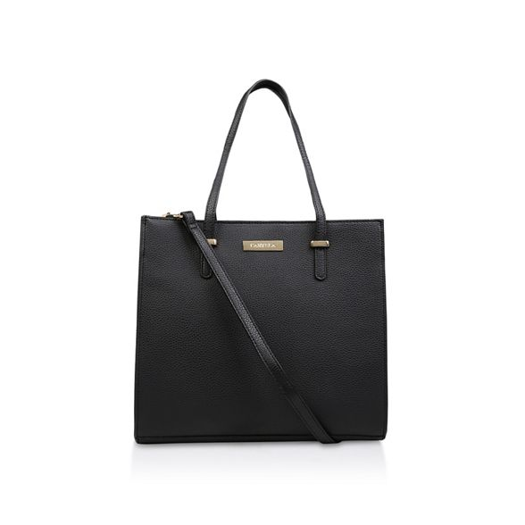 Pebble Str bag Tote' Black Carvela tote 'Bista HqEn7Eaz
