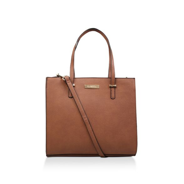 bag tote Tan Tote' 'Bista Str Pebble Carvela O64Zwq