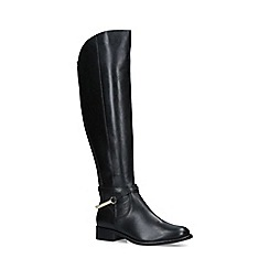 Carvela - Black 'Parading' Leather Knee High Boots
