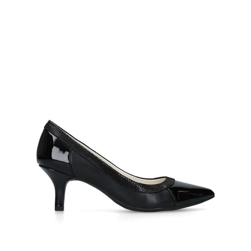 Anne Klein - Black Fabryce Pointed Toe Court Heels