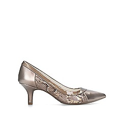 Anne Klein - Bronze 'Fabryce' pointed toe court heels