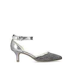 75e304602cc Anne Klein - Silver  Findaway  kitten heels
