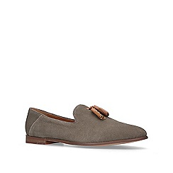 KG Kurt Geiger - Brown 'Altan' suede casual loafers