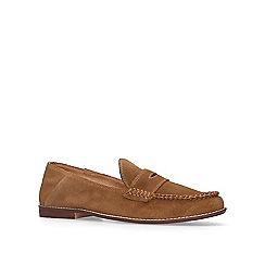 KG Kurt Geiger - Tan 'Apron' suede casual loafers