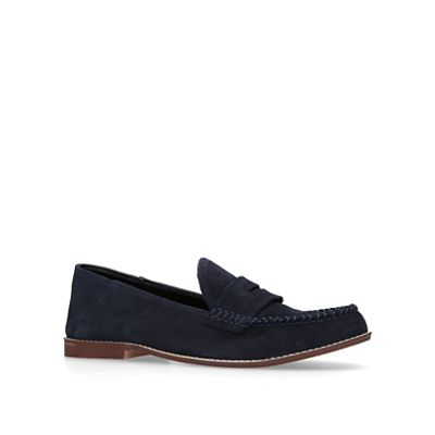 KG Navy Kurt Geiger - Navy KG 'Apron' suede casual loafers f21354