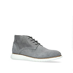 KG Kurt Geiger - Grey 'Beck' suede desert boots