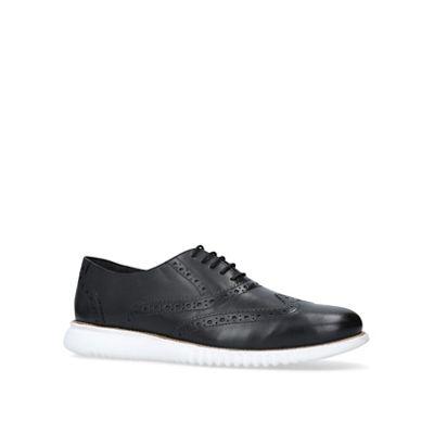 KG Kurt Geiger - Black 'Blyth' brogue shoes