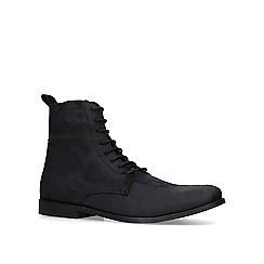 KG Kurt Geiger - Black 'Paisley' lace up boots