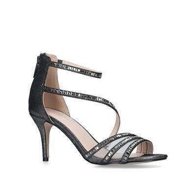 Carvela - Metallic 'liquor' studded strappy heeled sandals