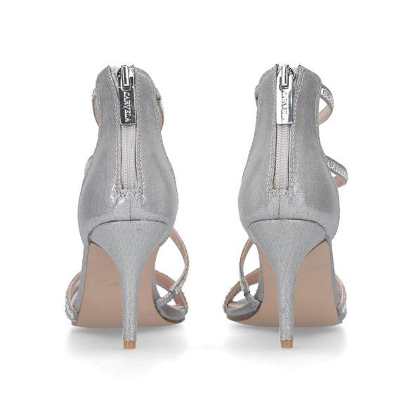 strappy 'liquor' sandals heeled studded Carvela Metallic qT70S
