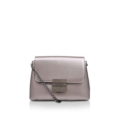 348703cdb2c Carvela - Pewter  Mini Blink Shoulder Bag  shoulder bag
