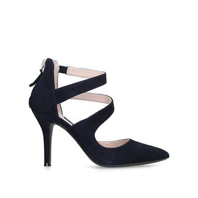 3107a564cc59 Nine West - Navy  Florent  mid heel court shoes