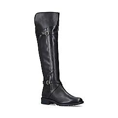 Carvela Comfort - Black 'Viv' leather high leg boots